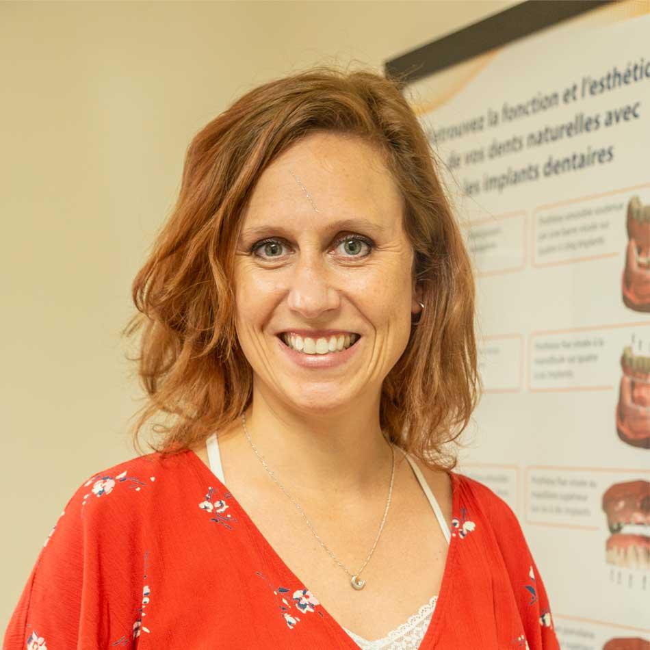 Denturologiste Stéphanie Carrier